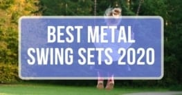 best metal swing sets