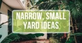 narrow yard ideas